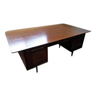 Mid Century Modern Executive Desk For Sale
