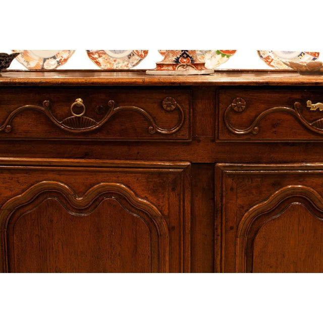 Italian Louis XV Style Elm Enfilade For Sale - Image 4 of 6