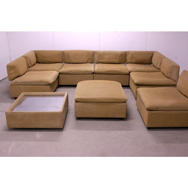 Contemporary 1970s Adrian Pearsall Modular Sectional Sofa for Craft Associates For Sale - Image 3 of 13