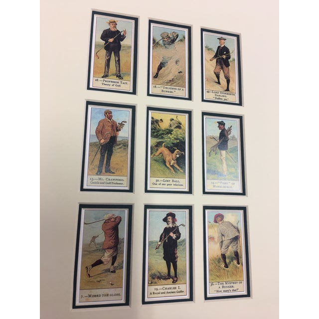 Cope's Golfers Repro English Cigarette Cards For Sale - Image 4 of 8