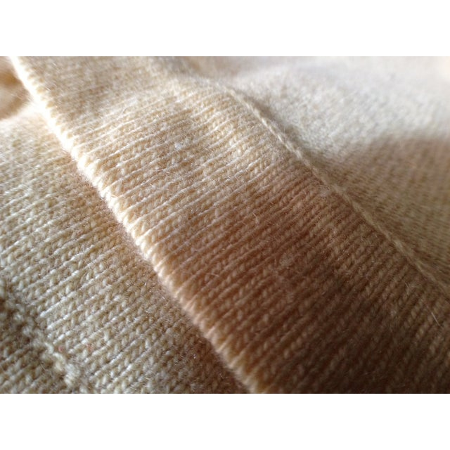 Vintage Chanel Cashmere Throw - Image 4 of 5