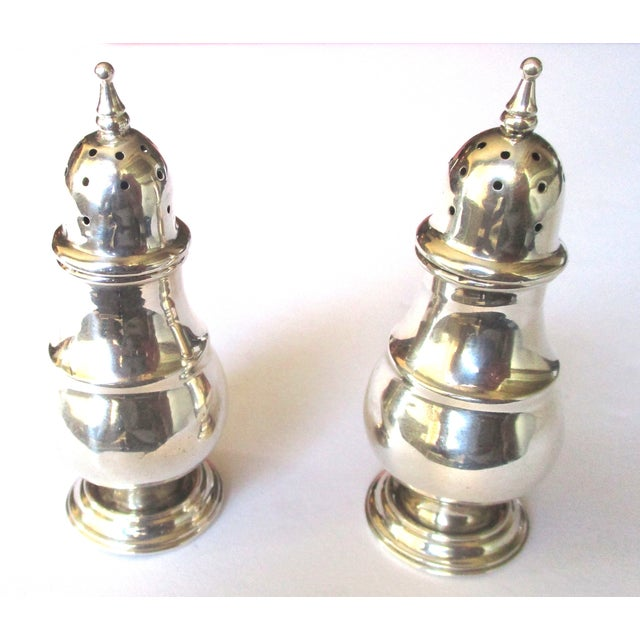 Sterling Silver Salt & Pepper Shakers - A Pair - Image 6 of 6