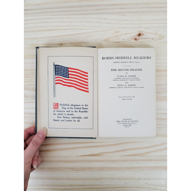 1920s Bob Merrill's Second Reader School Book For Sale - Image 4 of 8