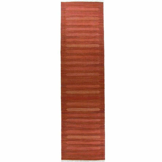 Rug & Relic Red Yeni Kilim Runner 2'6'' x 9'8'' - Image 1 of 3