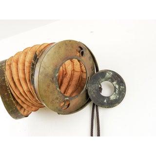 Antique Brass & Paper Accordion Lantern Preview