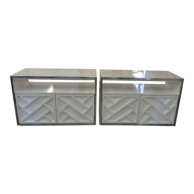 Lacquered Chippendale Chests - A Pair - Image 1 of 9