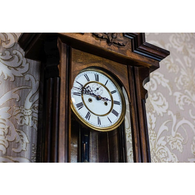 19th Century 19th-Century Wall Clock For Sale - Image 5 of 13