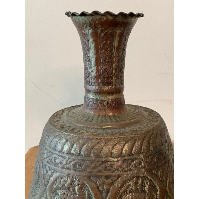 Antique Turkish Water Jugs - a Pair For Sale In Los Angeles - Image 6 of 12