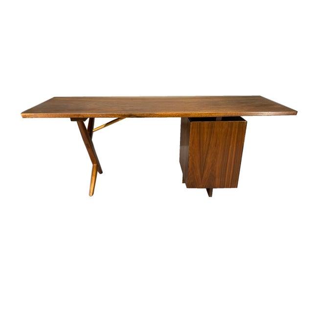 George Nakashima George Nakashima Conoid Writing Desk For Sale - Image 4 of 8