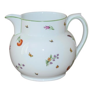 Early 20th Century Antique Limoges for Tiffany & Co Garden Pitcher For Sale