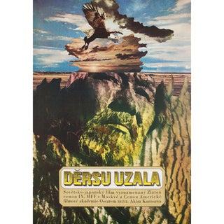 Dersu Uzala 1976 Czech A1 Film Poster For Sale
