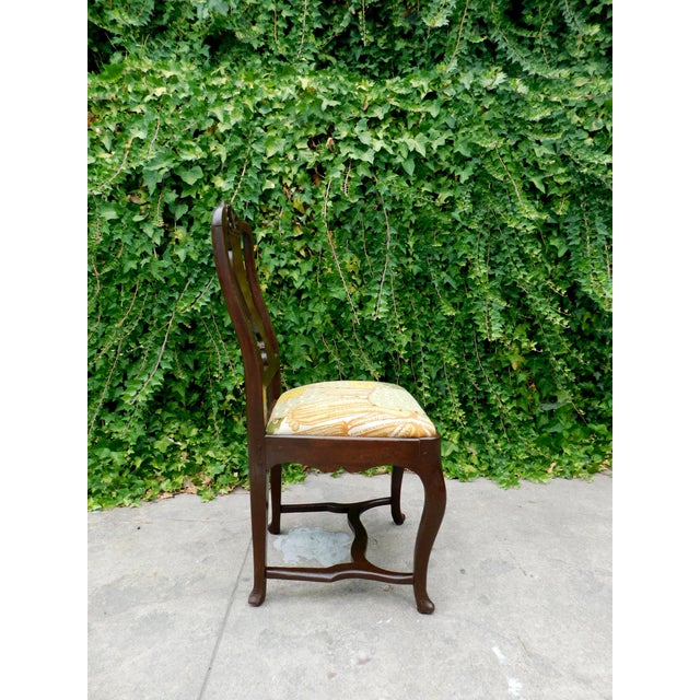 Early 1900s Botanical Cactus Vanity Chair For Sale In San Francisco - Image 6 of 10