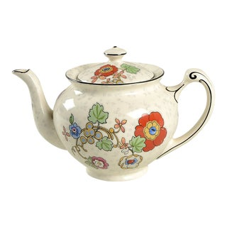 Crown Ducal Beaumont Teapot & Lid For Sale