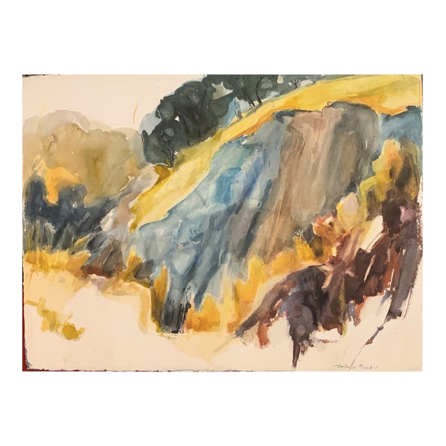 California Gold Country Double Sided Landscape 2 For Sale