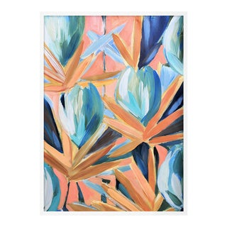 Lyford 2 by Lulu DK in White Framed Paper, Small Art Print For Sale