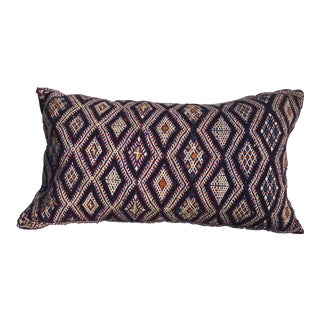 Moroccan Berber Handwoven Tribal Pillow