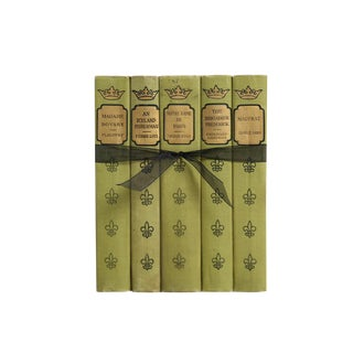 Vintage Decorative Book Gift Set: French Classics For Sale