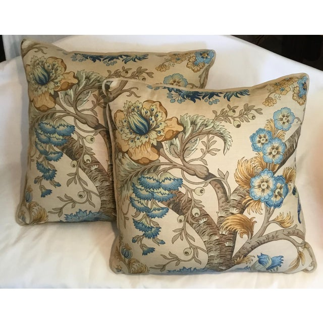 Ralph Lauren Pillow - Tree of Life Design - Pair Available For Sale - Image 11 of 13