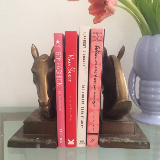 Brazen Horse Bookends - A Pair - Image 6 of 11