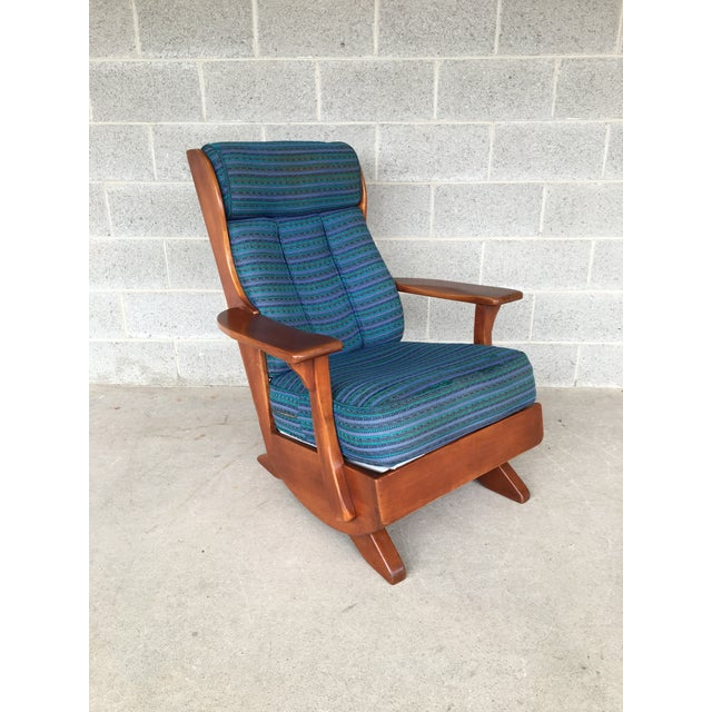 Cushman Colonial Creations Plymouth Platform Rocker, Only made 1937- 1940, In Excellent Vintage Furniture Condition,...