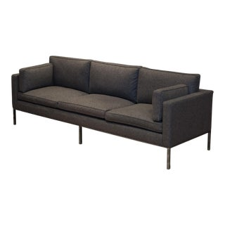 Like New-Artifort 905-3 Seat Comfort Sofa in Divina Melange Grey Wool For Sale