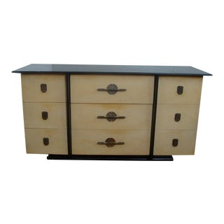 Kent Coffey the Park Avenue Chinoiserie Dresser Asian Credenza Chest of Drawers For Sale