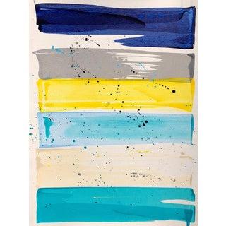 Modern Fairfield Rainbow Painting by Katy Garry For Sale