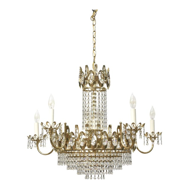 Vintage Strass Crystal Chandelier