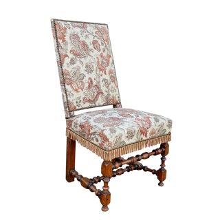 Set of Six Flemish Baroque Walnut Dining Chairs