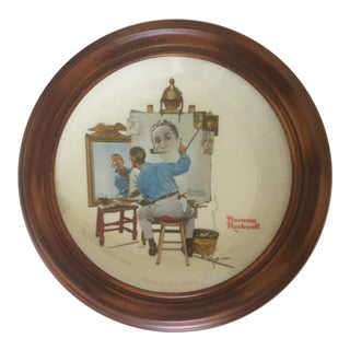 Commemorative Norman Rockwell for Gorham Plate For Sale