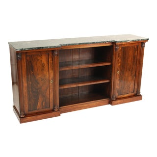 19th Century Georgian Rosewood Bookcase For Sale