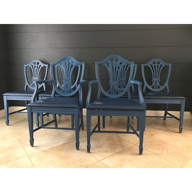 Chippendale Style Dining Chairs - Set of 6 - Image 3 of 6