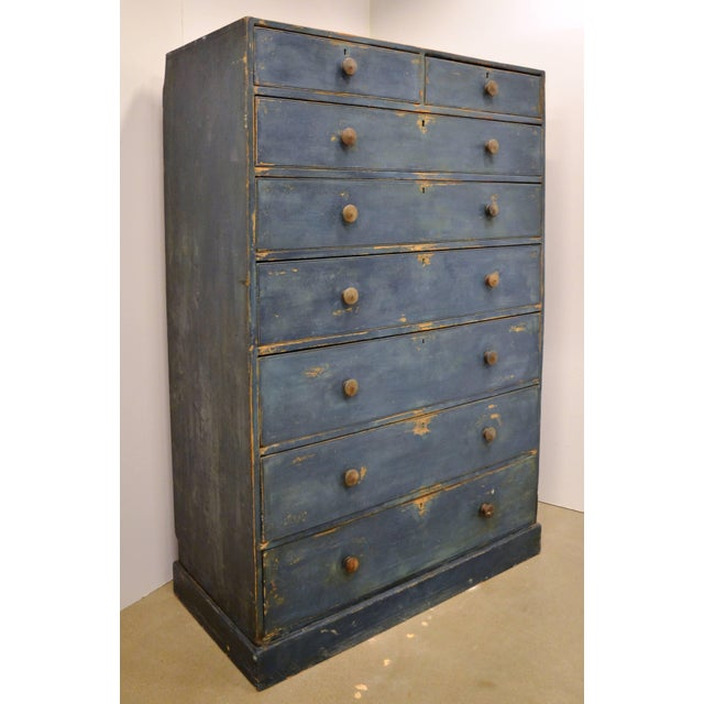 Lights English Chest of Drawers, Early 19th Century For Sale - Image 7 of 11