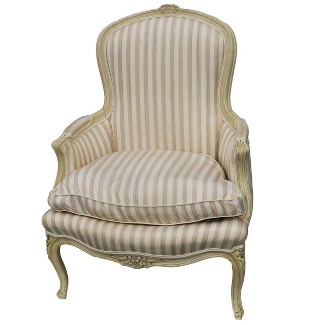 John Widdicomb French Style Upholstered Chair - Image 7 of 9
