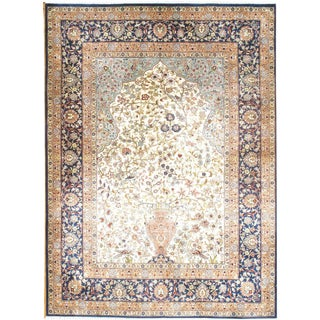 "Pasargad NY Original Sino Herekeh Herati Design Rug -- 3' 3"" X 4' 5"" For Sale"