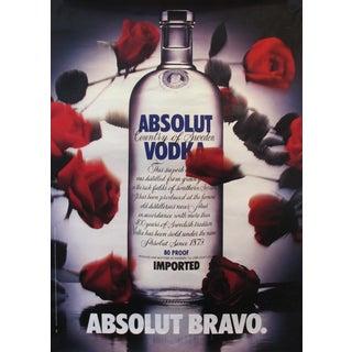1985 Absolut Vodka Advertisement, Absolut Bravo For Sale