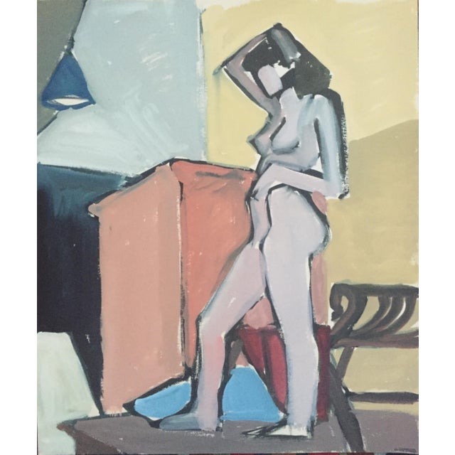 1940s-50s Bay Area Figurative Female Nude - Image 1 of 7