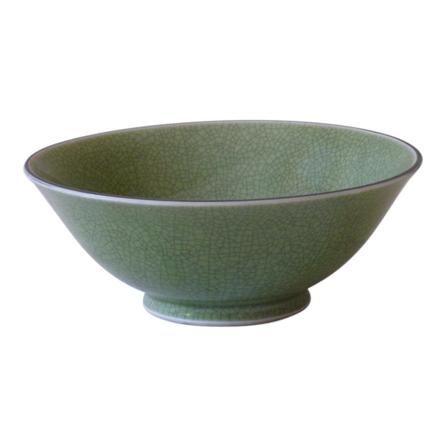 Chinese Crackle Glaze Bowl - Image 1 of 4