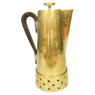 Tommi Parzinger Brass Coffee Pot For Sale