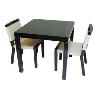 Van Keppel-Green Nook Table & 2 Chairs Set For Sale