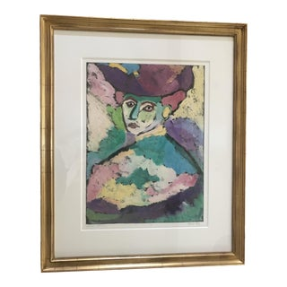 "Maria Mayr ""Madam Matisse"" Contemporary Print For Sale"