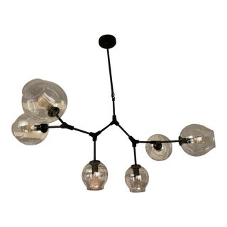 Black Pendant Chandelier For Sale