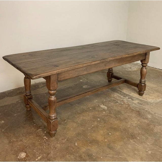Farm Table, 19th Century Country French Oak For Sale - Image 4 of 12