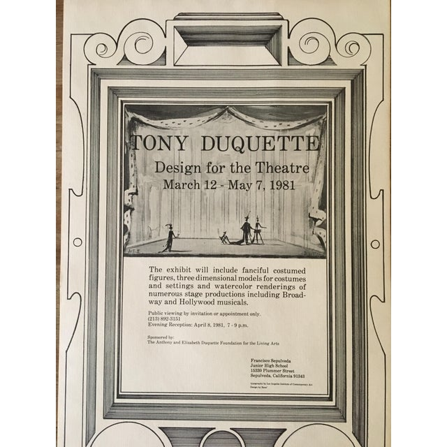 Tony Duquette Posters - A Pair For Sale In Los Angeles - Image 6 of 8