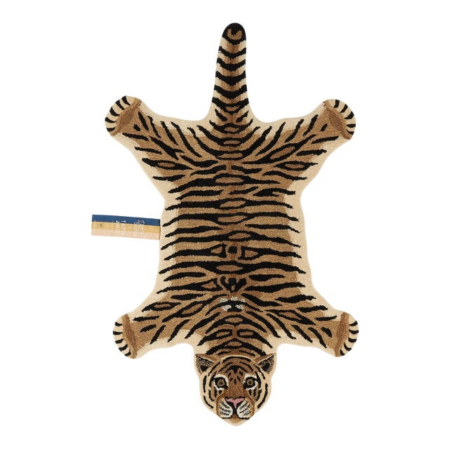 Doing Goods Drowsy Tiger Rug Large For Sale