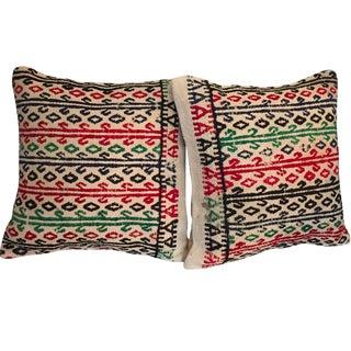 Vintage Kilim Throw Pillows - One Left For Sale