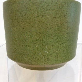 Mid Century Modern Green Gainey Planter Preview