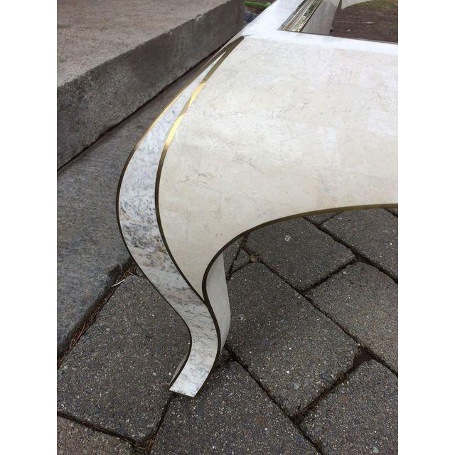 Maitland Smith Tessellated Stone Coffee Table - Image 7 of 7