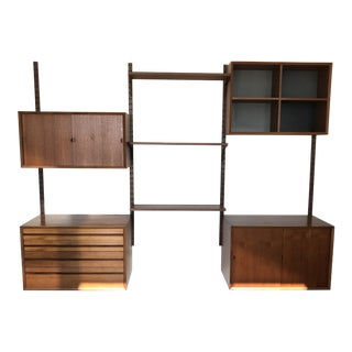 Danish Cado Modular Wall Unit For Sale