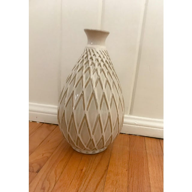 Ceramic Glazed Ceramic Pottery Vase For Sale - Image 7 of 7